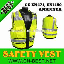 ANSI Class 3 personal safety equipment high visibility safety vest Radwear Heavy Duty Surveyor Safety Vests