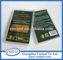 anti radiation scalar energy saver sticker