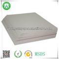 Dupla face de papel cinza placa da caixa folhas