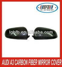 for Audi A3 fiber carbon parts mirror cover