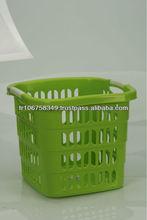 plastic laundry basket for laundry