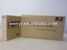 Riso RZ/EZ/EV B4 Master & Riso Digital Duplicator & Riso Master & Riso Mestre & OAT ink master