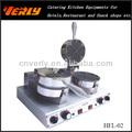 Belle forme gaufrier / machine / café / mix / équipement avec CE approuvé