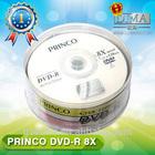 PRINCO dvd replication line /blank records