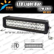 "Cheap price Combo Spot/Flood Beam 10-30V 10"" 72W LED lights bar Super Bright high Lumen 4x4 off road ATV SUV J eep"