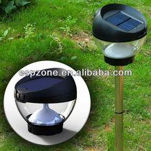 unique design 3 in 1 outdoor solar mosquito repellent detachable lamp 5PCS led solar energy saving rsensor table lamp