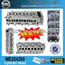 Aluminum Engine Cylinder Head Assembly For Mitsubishi Diesel Pajero V68 V78 4M41 ME204200