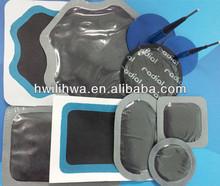 Tire patch rubber plug combi patch