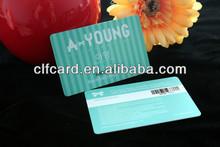 2014 Fashion pvc membership card