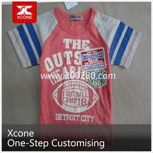 2015 hot sale children wear lovely pattern cotton kids t shirt fashion children's T-shirt