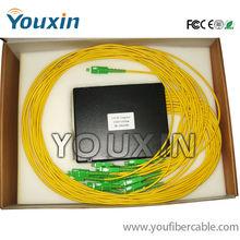 SM Fiber Optic PLC Splitter SC/FC connectors 1X16