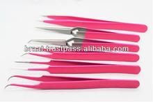 Pro Series Eyelash Extension Eyebrow Hair Plucking Lash Picking Eyelash Separating Electric Repairing Anti Static Tweezers