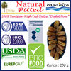 "Natural Pitted Dates. Tunisian High Quality Dates ""Deglet Noor"" Category, Fresh Dates Fruit, Sweet Dates 200 g"