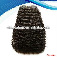Virgin malaysian remy hair,Wholesale malaysian remy kinky curly human hair weft