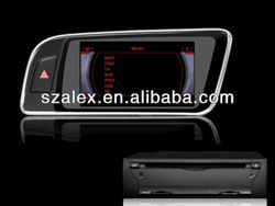 7 Inch Car DVD Receiver with GPS for Audi Q5 Right Hand Drive