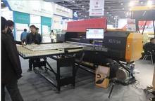 LED UV flatbed printer 1.8m*4M with Konica1024 6 pl or 14pl..