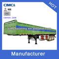cimc fábrica 3 ejes 40 toneladas la venta remolques