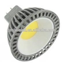 Designer new style cup light super bright 180degree spotlighting E27/GU10/MR16 base CE powerful aluminum led cob spot lamp 3W