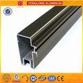 revestimento de eletroforese perfis de alumínio revestimento do moinho perfil de alumínio para janelas e portas de perfil de alumínio