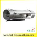 """Hidropónicos 8"""" refrigerado por aire frío del tubo crece la luz del reflector de la campana"""