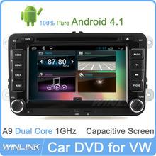 Android 4.1 Navigation Touch screen dvd player for vw passat b6 Golf Polo Passat Jetta TIGUAN beetle