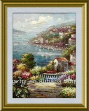 Italy France Spain Greece Mediterranean Art oil Painting