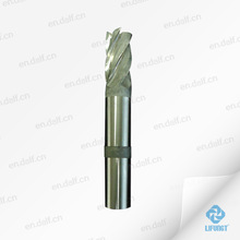 special custom made HSS 4 flutes cnc end mill cutting tools