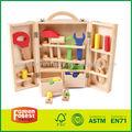 Niño de madera Kit de herramientas de juguete
