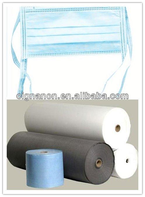 PP Spun Bond non woven fabric medical blue
