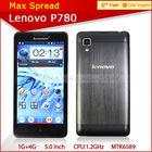 android 4.2 5.0 inch dual sim lenovo p780 2013 latest phone