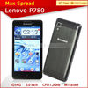 5.0'' Lenovo p780 dual sim 8mp camera cheap big screen android phone