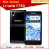 2013 new products lenovo p780 3g wifi dual sim android phone