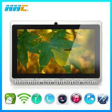 shenzhen 7 inch laptop / 7 inch 2g gsm tablet pc