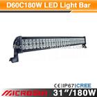 """31"""" 180W Off Road LED Work Light toyota forklift lights"""