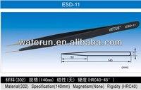 Vetus ESD-11 Anti-static ESD Pointed Stainless Steel Tweezers
