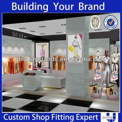 Custom high quality shop bulk clothing stores design