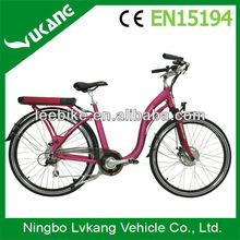"2013 New Woman Beach bike,26""lady electric beach cruiser bicycle"