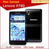 Original android 4.2 dual sim lenovo p780 8mp dual camera cellular phone