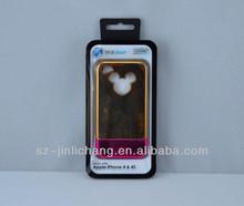 Cutom cell phone case retail packaging plastic box sliding lid