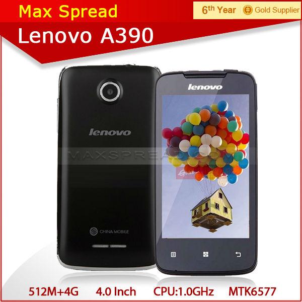 2013 New product Lenovo A390 dual core dual sim phone mobile