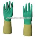Nouveaux gants de ménage en latex naturel pour nettoyer la maison/gants en latex des ménages/ménage. des gants de caoutchouc pour la cuisine
