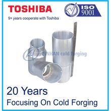 OEM aluminum cylinder, forging cylinder liner, precision forging cylinder liner