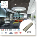 Rucca WPC decorativa pvc do teto suspendido designs 40 * 25 mm China