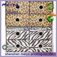 Customized house paper desk with drawer,good quality paper furniture