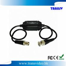 Coaxial Video Ground Loop Isolator CCTV video balun for CCTV Camera