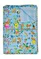 handgemachte indische baumwolle kantha stickerei Blumenmustern quilts wirft tagesdecken