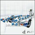 De aluminio de remolque del barco flt-t02, remolque jetskis/motos agua
