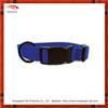 Black hardware nylon colored dog collars