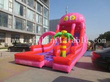 New design octopus inflatable Slide/durable pvc slide