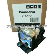 Panasonic ET-LA701 projector lamp+lamp housing,LCD panasonic projector